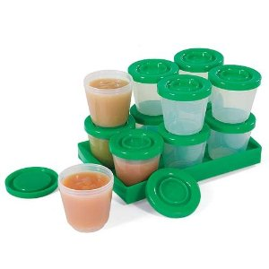Oxo Tot Baby Blocks Freezer Storage Containers u2013 Available in 2u2013 and 4-ounce sizes with a tray to help stack the plastic containers.  sc 1 st  Skinny Not Skinny & Making Baby Food at Home: Storage Solutions for Purees