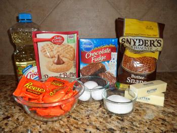 dessert bar ingredients