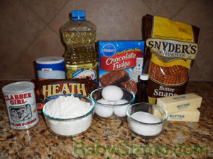 cookie bar ingredients