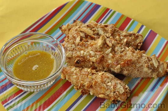 Bottom Of The Bag Recipe: Honey Mustard Pretzel Chicken Tenders