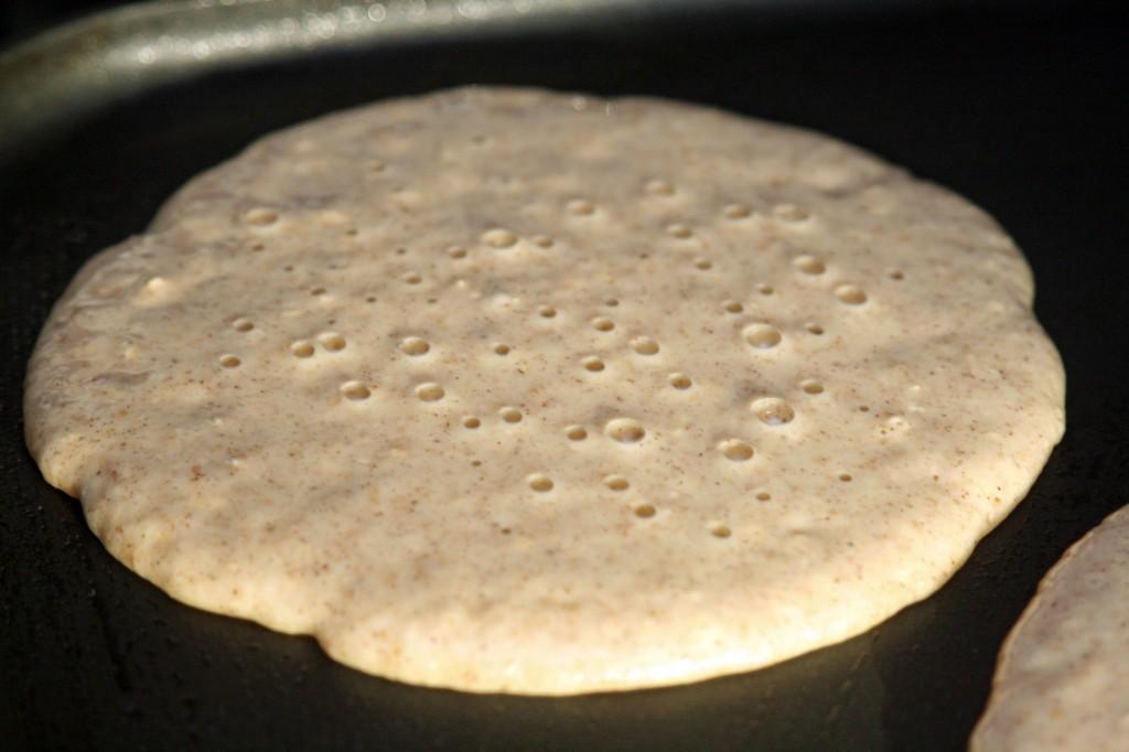 Pancakes -- ready to flip