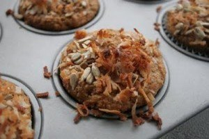 Eat Well AND Relax This Mothers Day: Pineapple, Carrot, Coconut Morning Muffins
