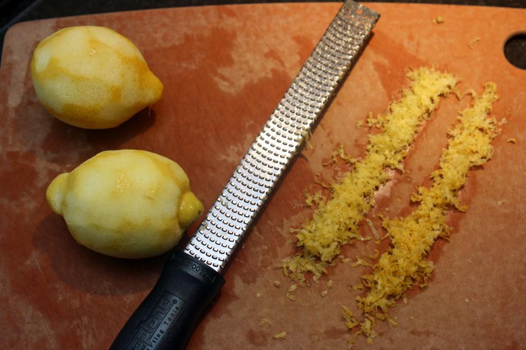 Lemons and microplane