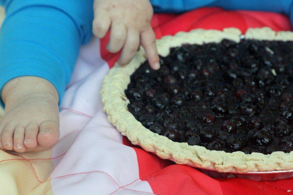 Blueberry Smash Pie