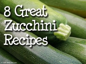 Eight Great Zucchini Recipes