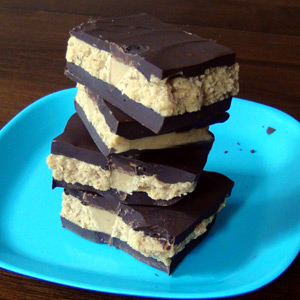 Peanut Butter Cup Bark