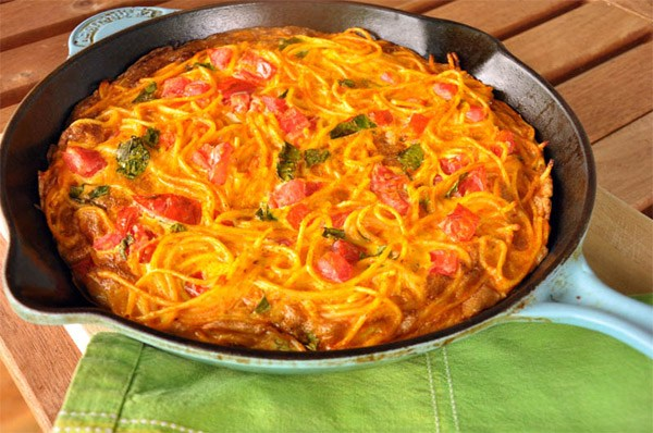 Spaghetti Frittata – Leftovers Never Tasted THIS Good: