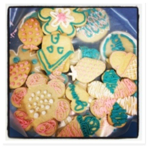variety of sugar cookies in bowl