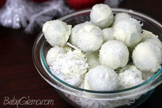 Oreo Truffle Snowballs