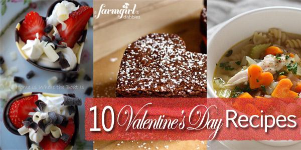 10 Delicious Valentine's Day Recipes