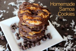 Homemade Girl Scout Samoa Cookie Recipe