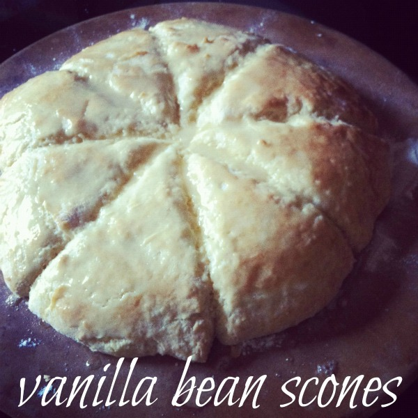 Vanilla Bean Scone