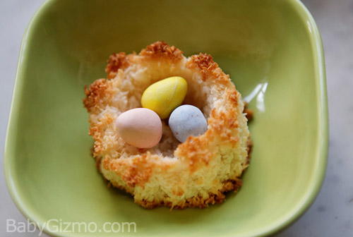 Kid Friendly Baking: Spring Bird Nest