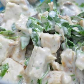 Chicken Salad Ranch Roll Ups