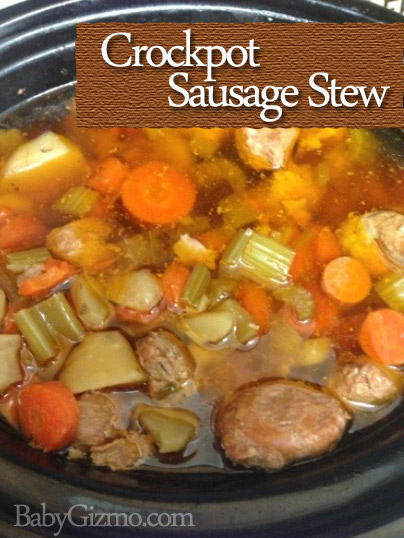 Recipe: Crock Pot Sausage Stew