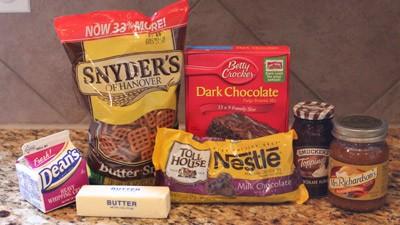 pretzel brownie ingredients