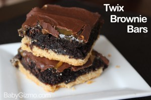 Twix Brownie Recipe