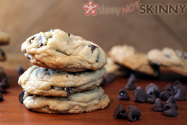 close up of stacked cookies