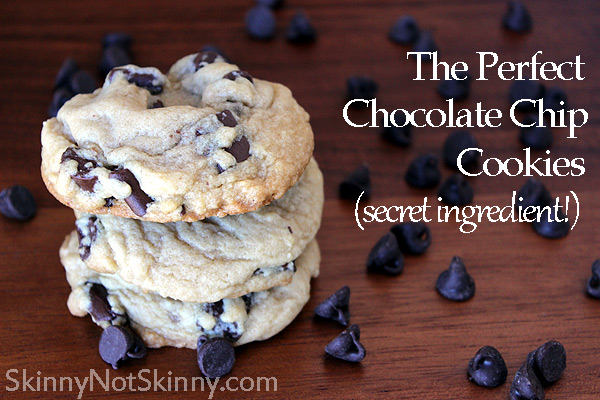 The BEST, Most Perfect Chocolate Chip Cookies