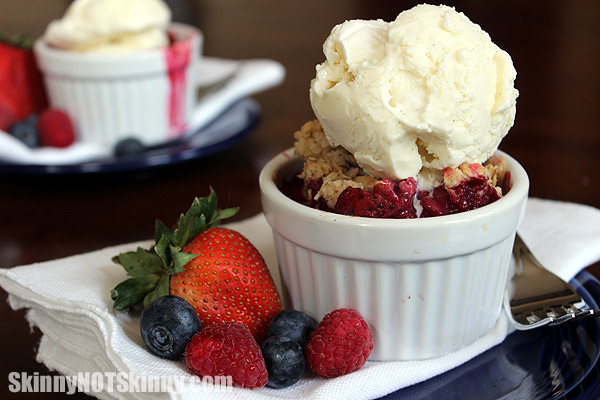 Three Berry Crisp