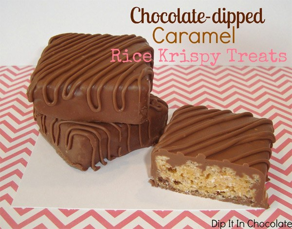 Dipped Krispie Treats