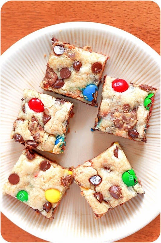 Loaded Sugar Cookie Bars