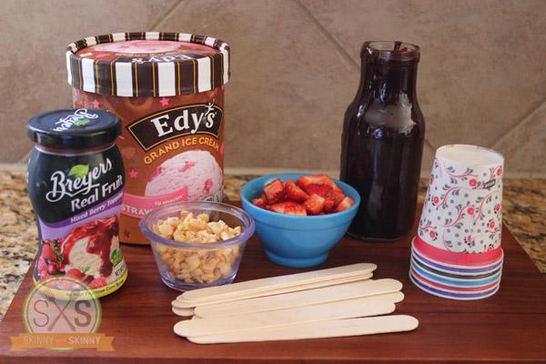 Berry Ice Cream Pops