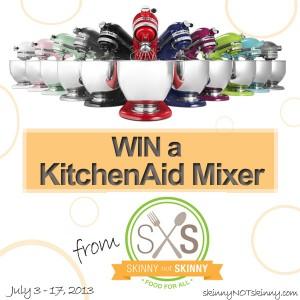 KitchenAid 5-Quart Mixer Giveaway