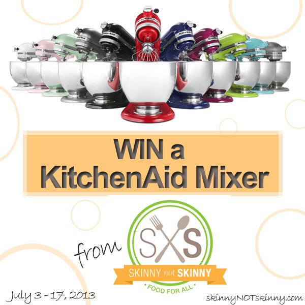 KitchenAid 5-Quart Mixer Giveaway