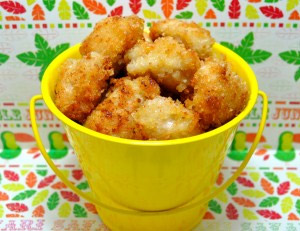 Mango Coconut Chicken Nuggets