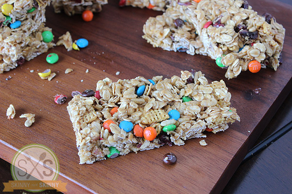 how to make trail mix bars