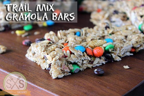 Trail Mix Granola Bars Recipe