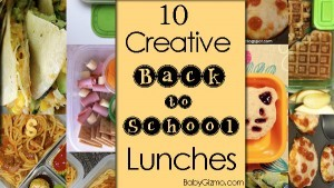 10 Creative Lunches For Back To School