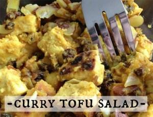 Curry Tofu Salad Recipe