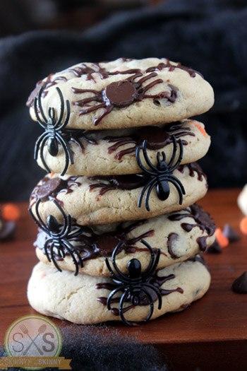 Spider Cookies Stack