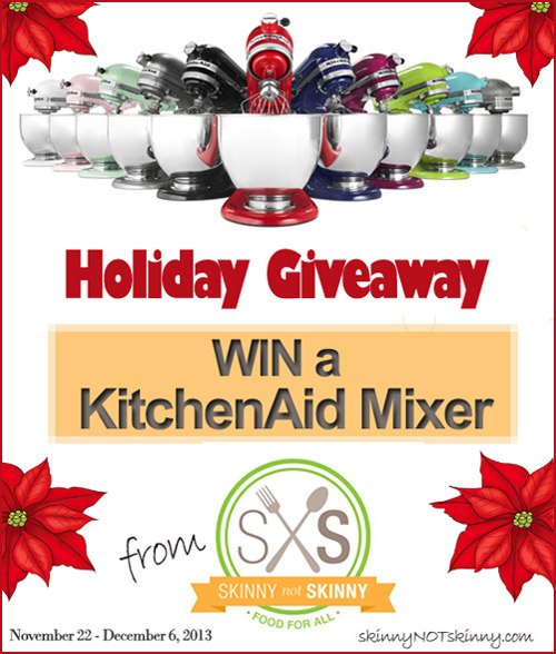 KitchenAid 5-Quart Mixer Holiday Giveaway