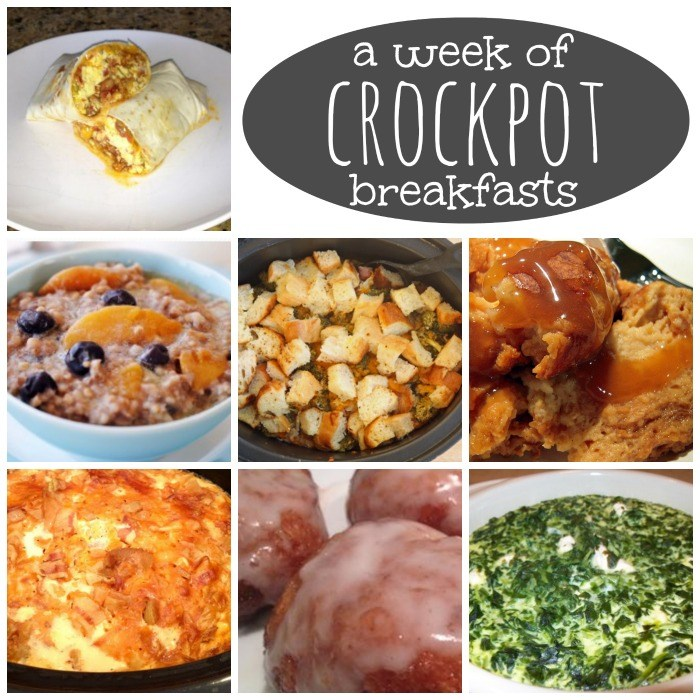 crockpot breakfasts