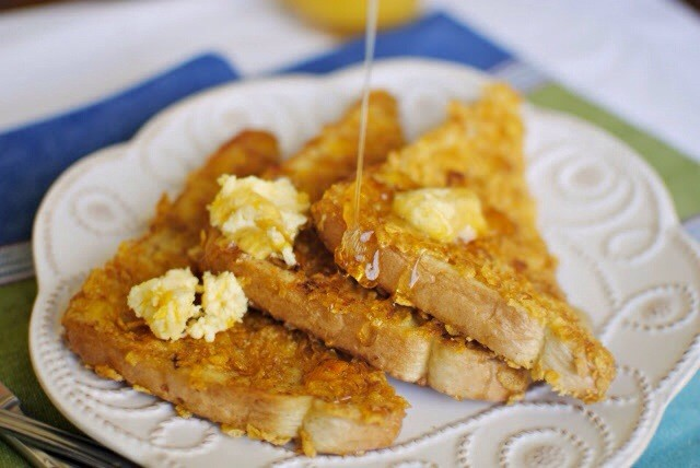 crusted french toast