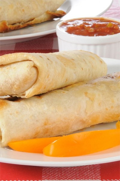 Weight Watchers Chimichangas