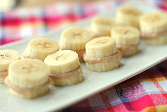 Weight Watcher Banana Bites