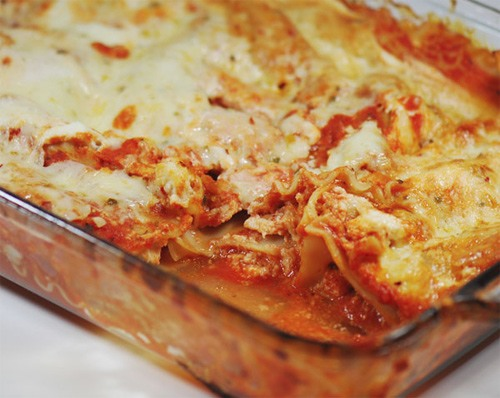 WW Buffalo Chicken Lasagna