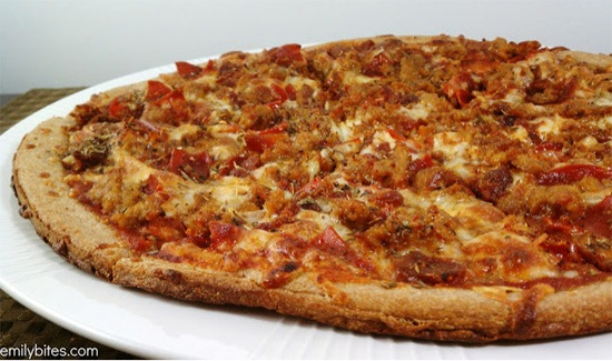 Weight watchers pizza