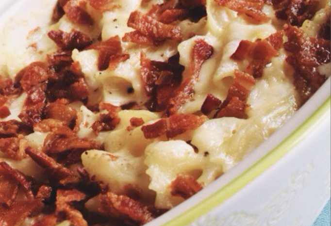 Bacon Gouda Mac 'n Cheese