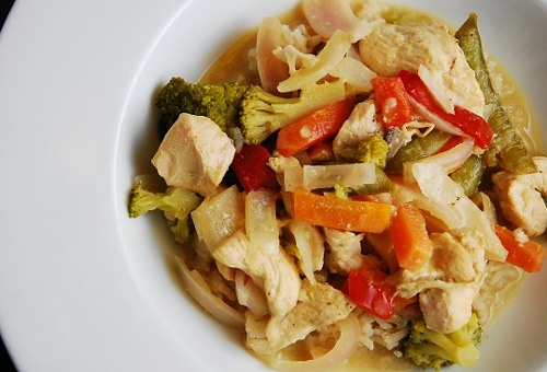 weight watchers chicken curry cooking instructions