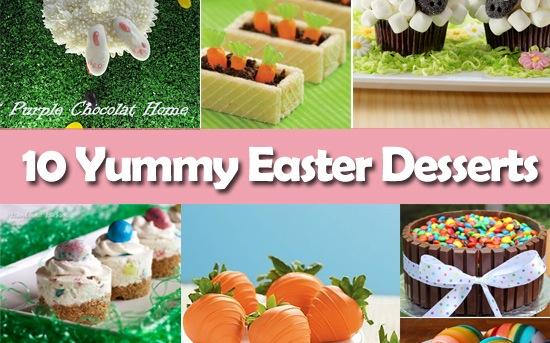 10 Yummy Easter Desserts