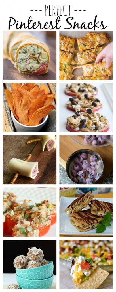 PERFECT PINTEREST SNACKS