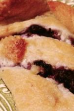 Blueberry struesel