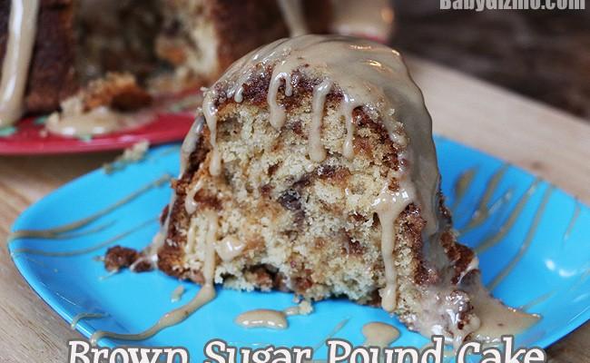 Caramel Brown Sugar Pound Cake