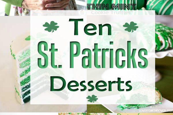 Ten St. Patrick's Day Desserts