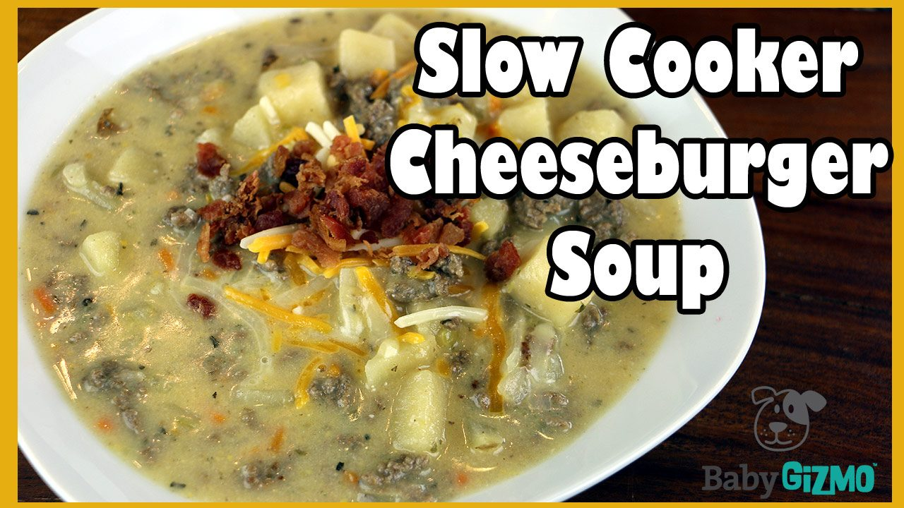 Slow Cooker Cheeseburger Soup Recipe